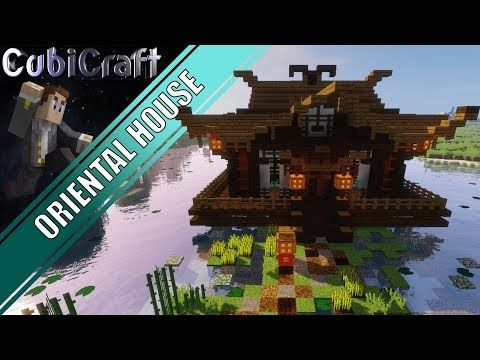 Oriental House Temple Chinese Japanese Minecraft Tutorial Video