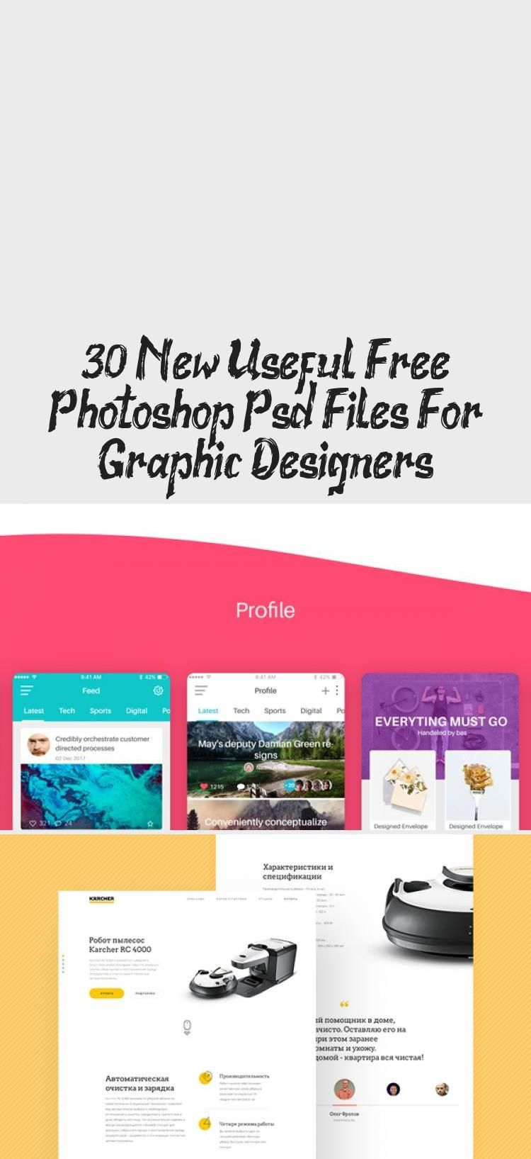 30 New Useful Free Photoshop Psd Files For Graphic Designers - Design