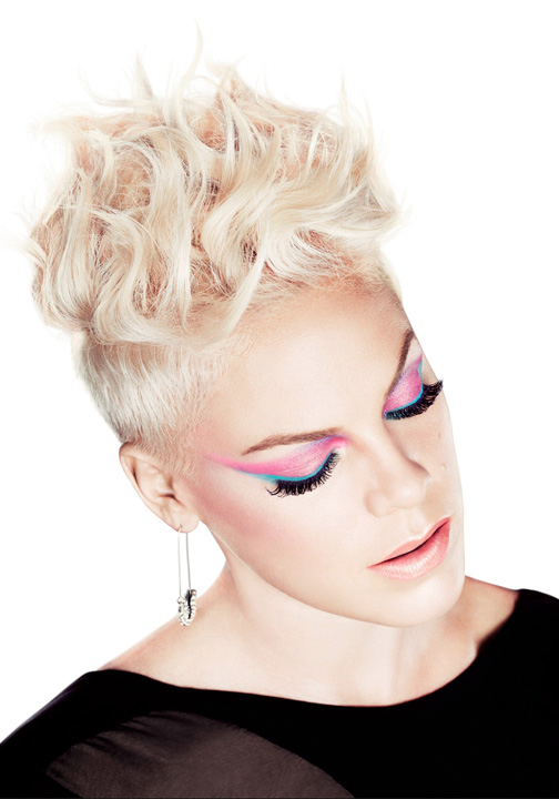 Click to find out how you can get this fired- up look just like our COVERGIRL, Pink!