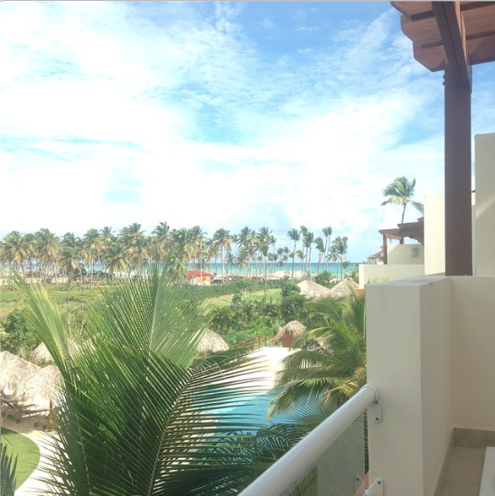 Now THIS is a view we could wake up to each day! Thanks to Breathless Punta Cana fan Mack C for sharing!
