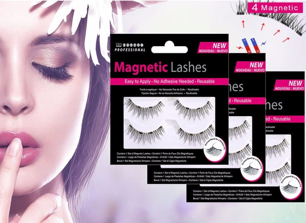 ec28d981760 Fine Just $2.47! MB 2 Pairs Magnetic eyelashes with 4 magnets ...
