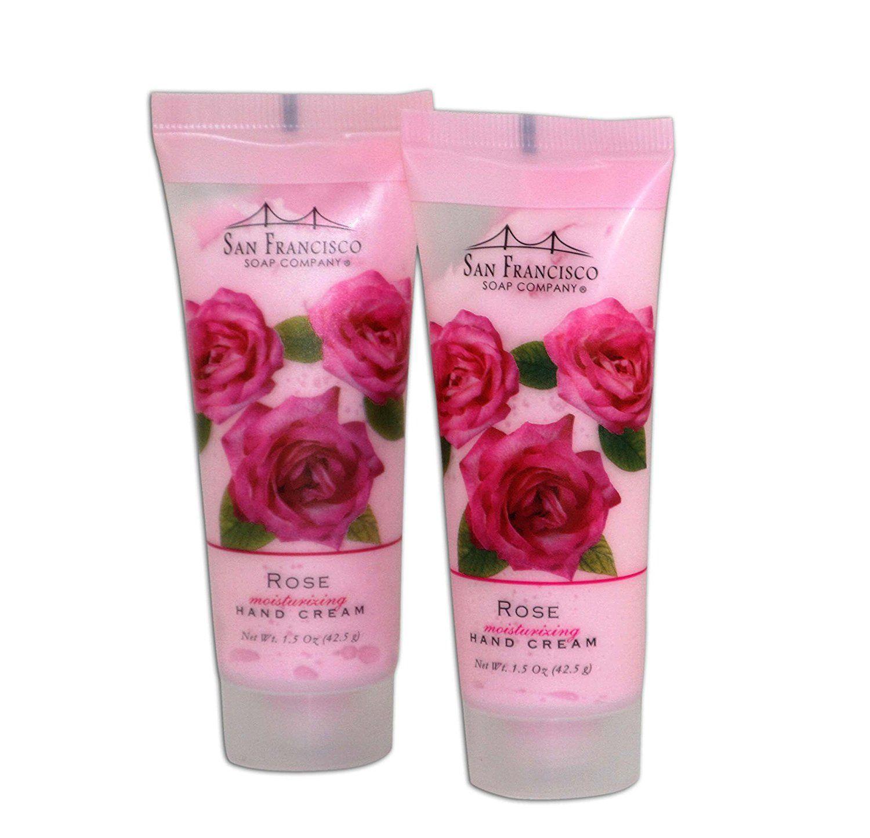 San Francisco Soap Co Rose Hand Cream Two 1.5ounce