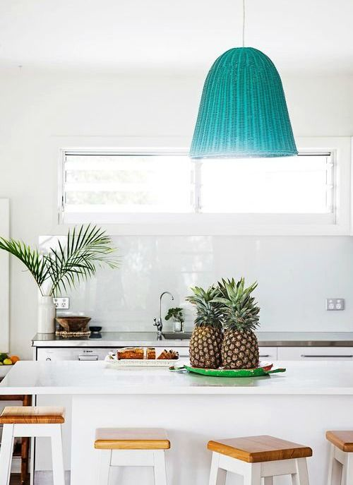 wicker basket pendant lights coastal pendant lighting and kitchens
