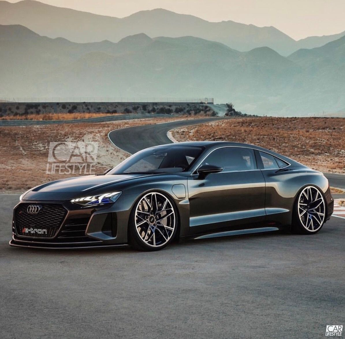 2020 Audi E tron GT Rs coupé version Voitures musclées