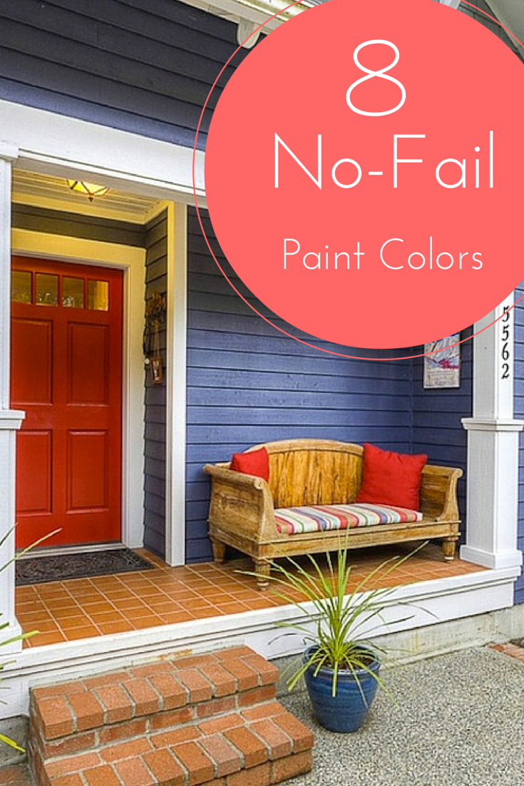 7 No-Fail Exterior Paint Colors
