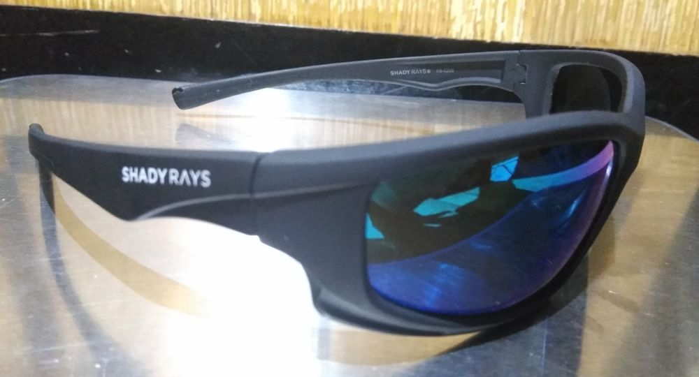 1e0bd253b7 SHADY RAYS X SERIES BLACKOUT POLARIZED INCOGNITO EMERALD XS5208 SUNGLASSES  SPORT  ShadyRays  Wrap