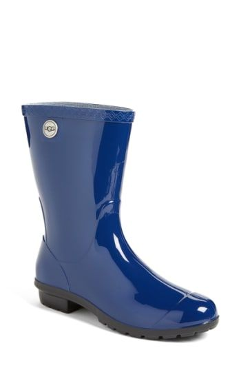 0b1819d1c74 Women's Ugg 'Sienna' Rain Boot - Blue | Boots | Rain boots, Boots ...