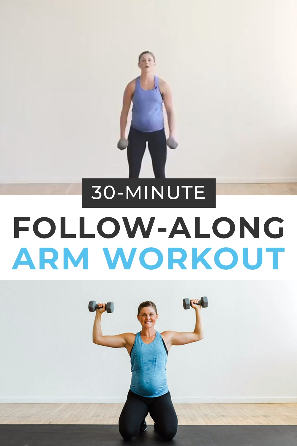 30-Minute Arm Workout with Dumbbells