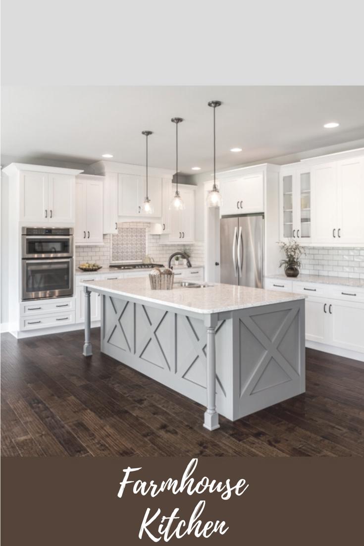 Make a better look with stunning farmhouse kitchen lighting ideas