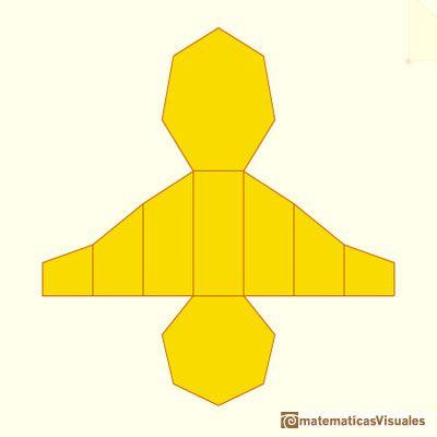 Matematicasvisuales Desarrollos Planos De Cuerpos Geométricos 2 Prismas Cortados Por Un Plano Oblicuo Prismas Terrario Geométrico Poliedros