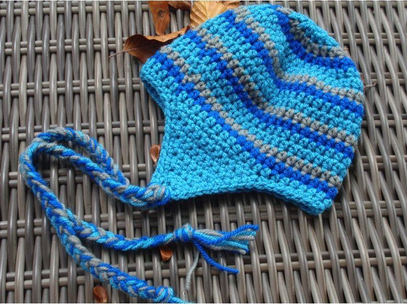 Yn Haakpatroon Stoere Muts Met Oorflappen Crochet Pinterest