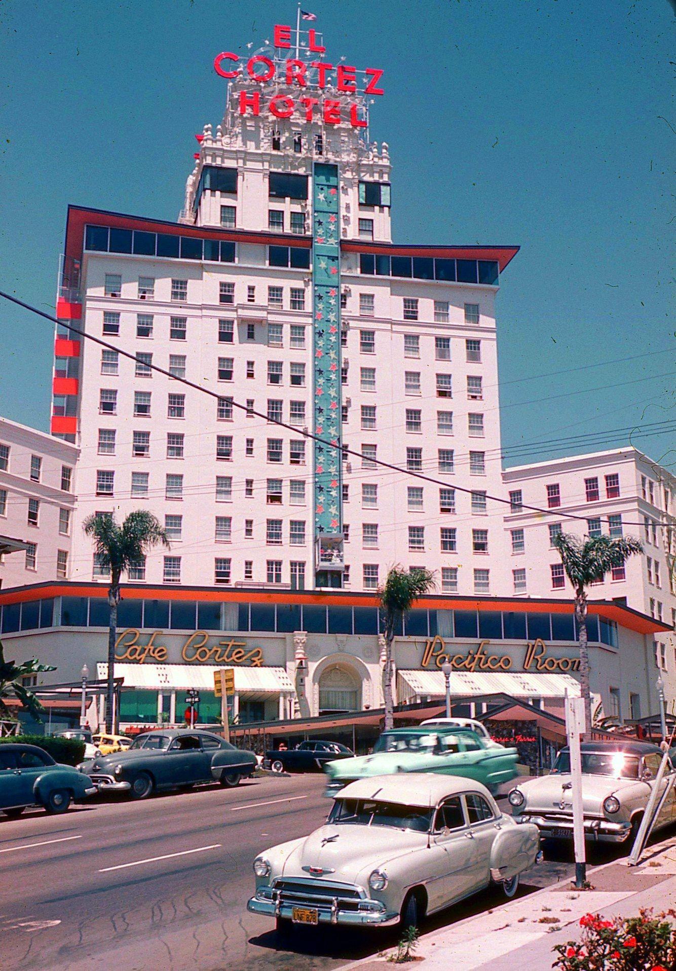 El Cortez Hotel, San Diego, CA, 1958 (With Images)