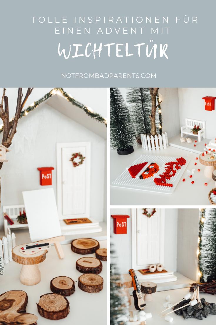 Unser Weihnachtswichtel Nisse zieht (wieder) ein