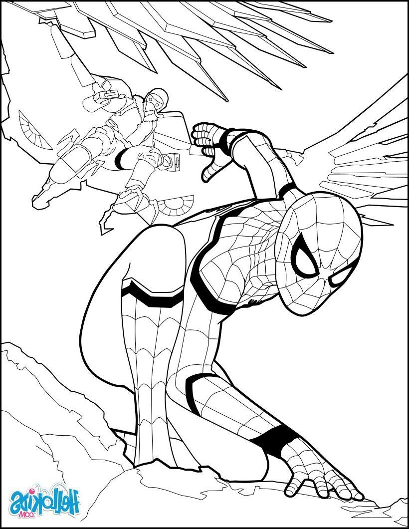 Dessin De Spiderman