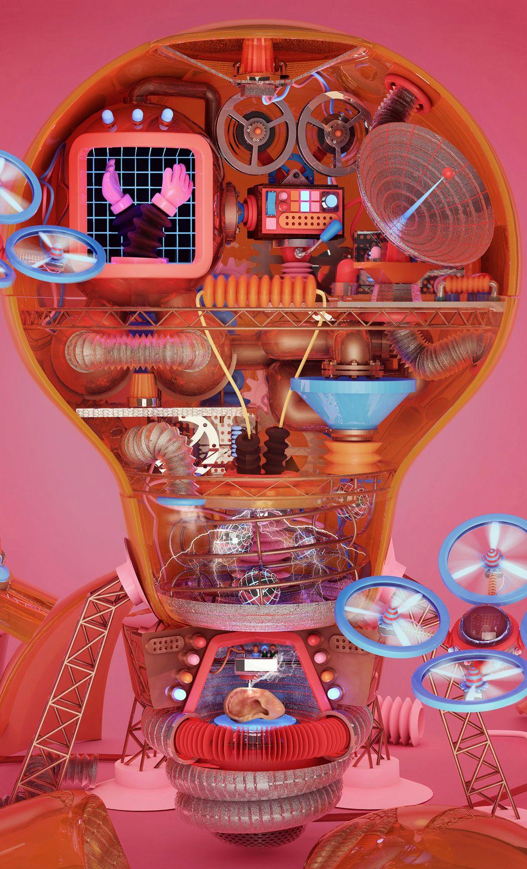 Computer arts cover on behance computer art creative