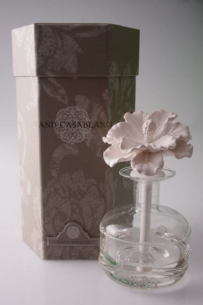 Grand Casablanca Diffuser In White Hibiscus By Zodax At Tagscom