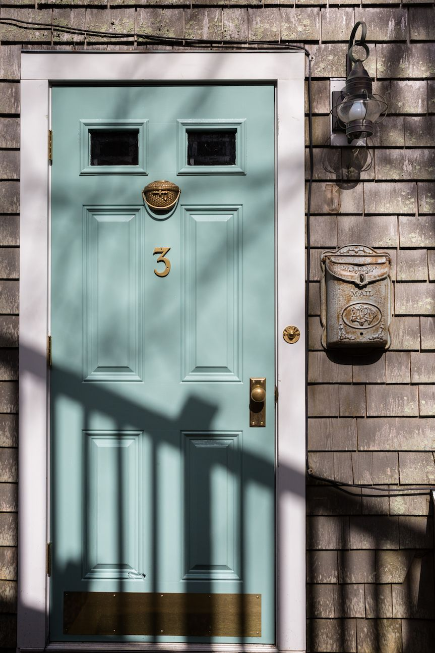 Centerloft Cottage Front Door by Melanie Gowen Nantucket
