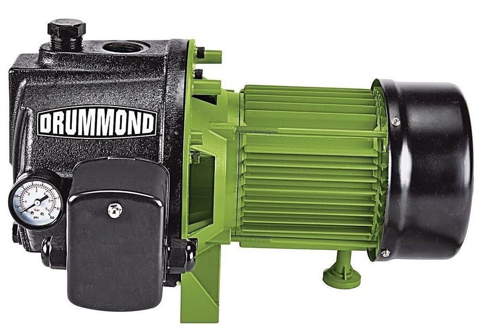 1 HP Cast Iron Shallow Well Pump with Pressure Control