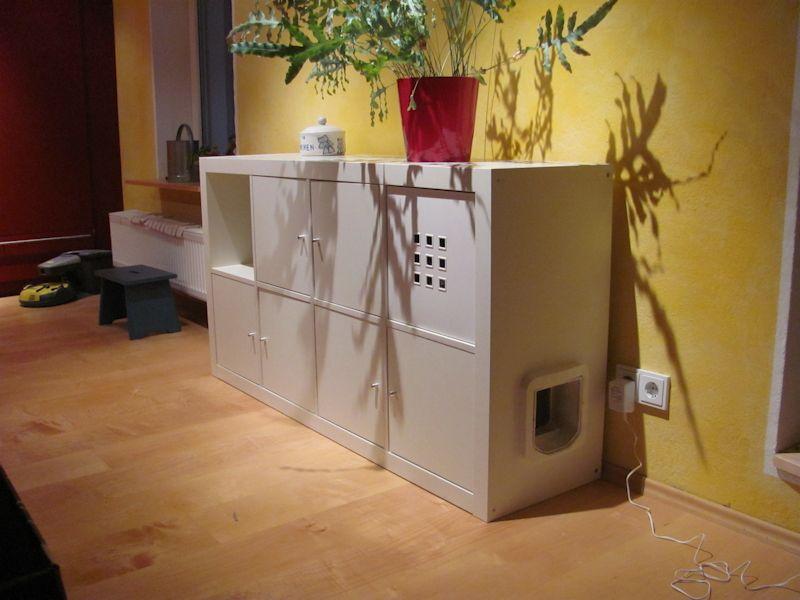 Katzenschrank D Ikea Katzenklo Selber Bauen Katzenschrank