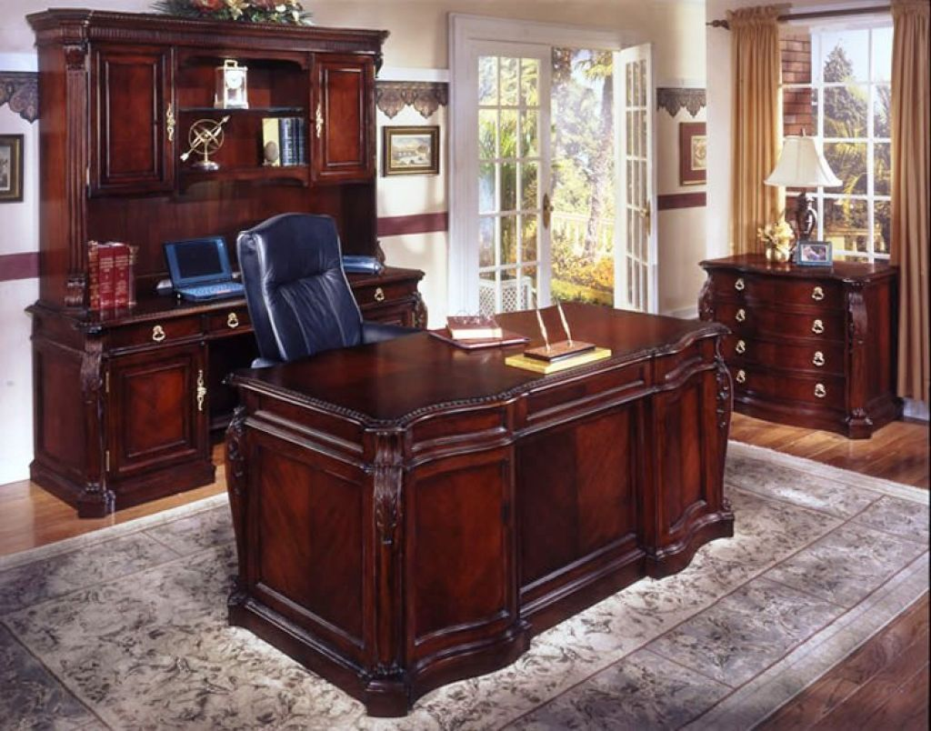 Cherry Wood Desk   Executive office furniture, Classic ...