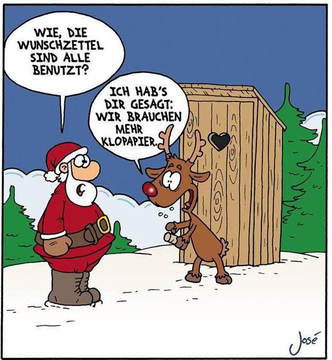 funpot's 23tes adventstürchen  lustige cartoons