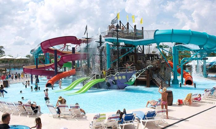Waterpark Admission And Perks Jacksonville Beach