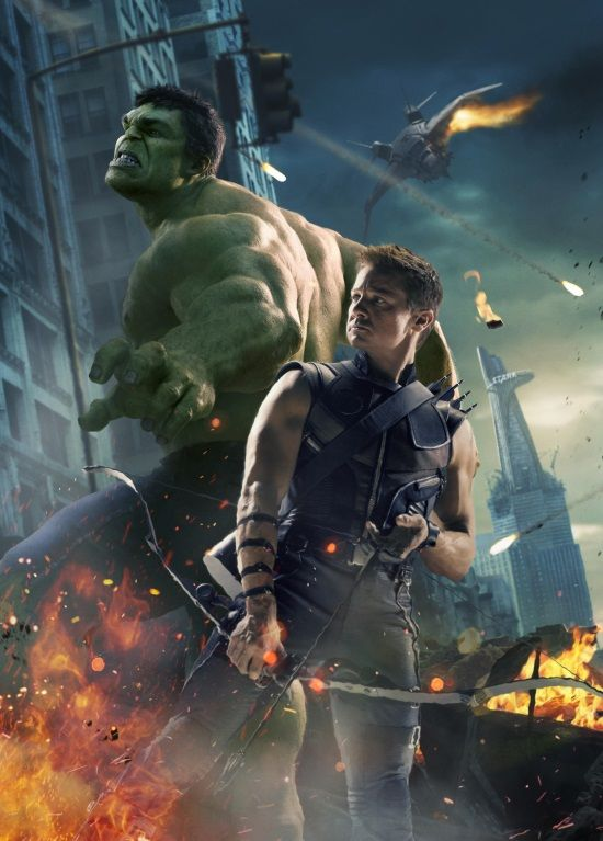 Both Hulk and Hawkeye to have big roles in Avengers: Age of Ultron