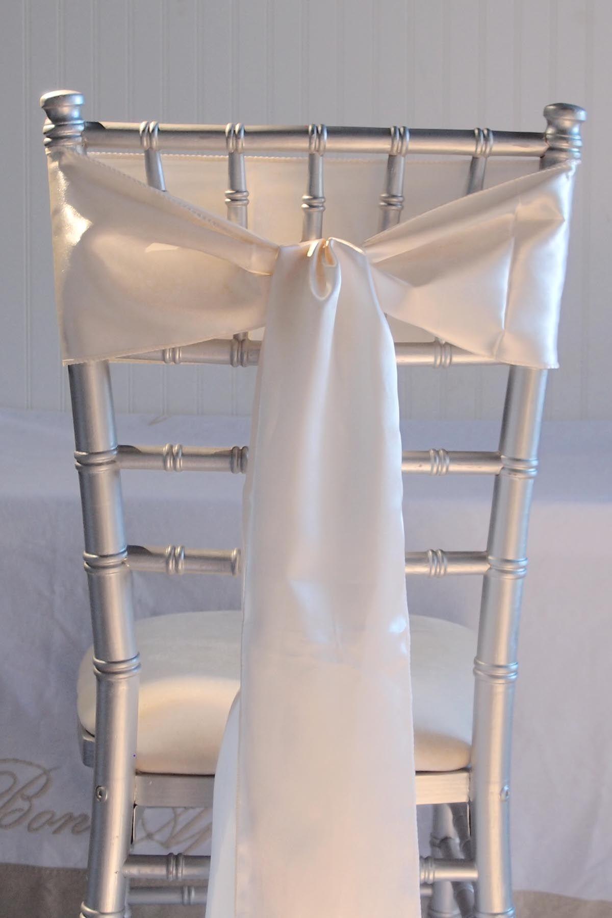 wedding chair sashes australia
