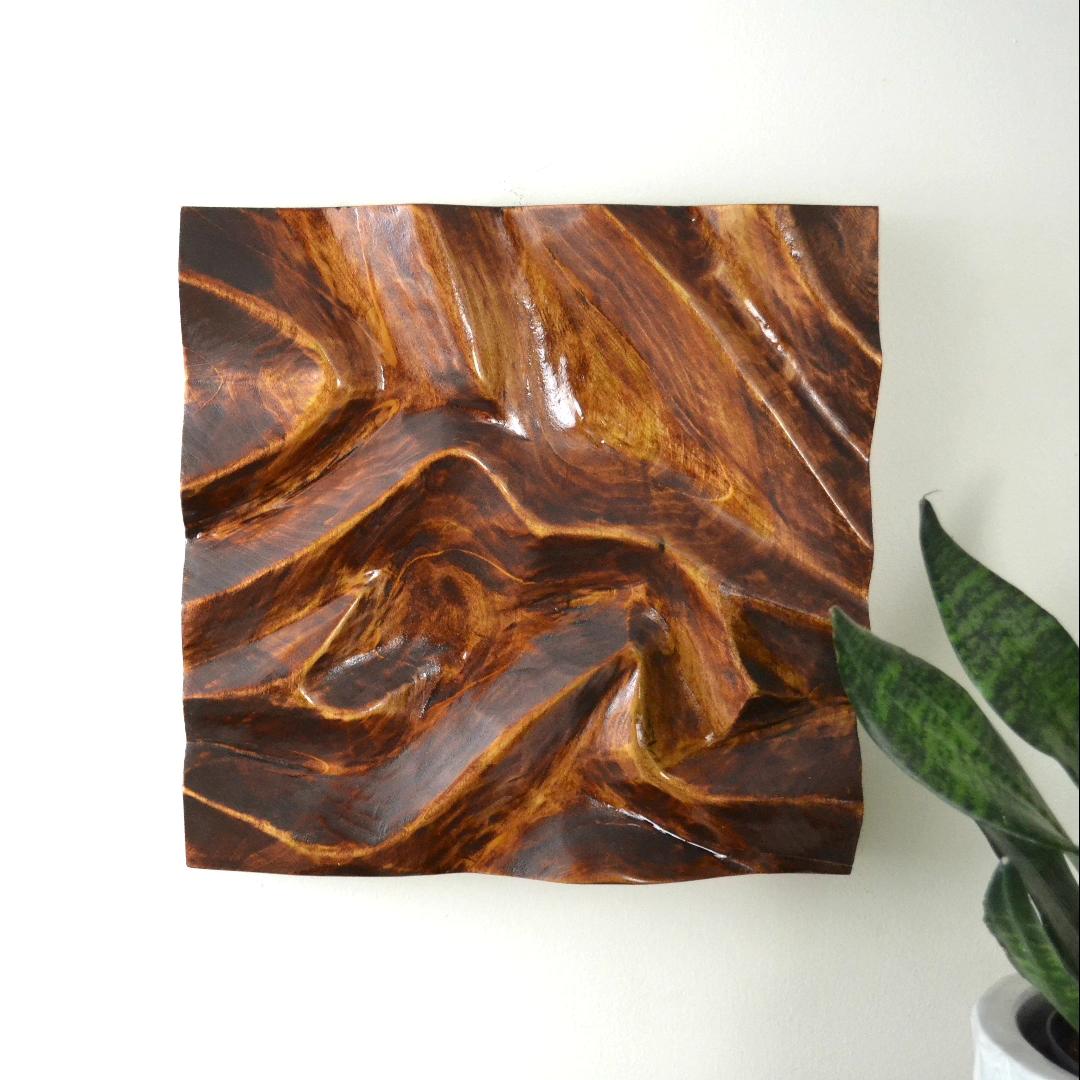 Beginner Wood Carving Wall Art #wood