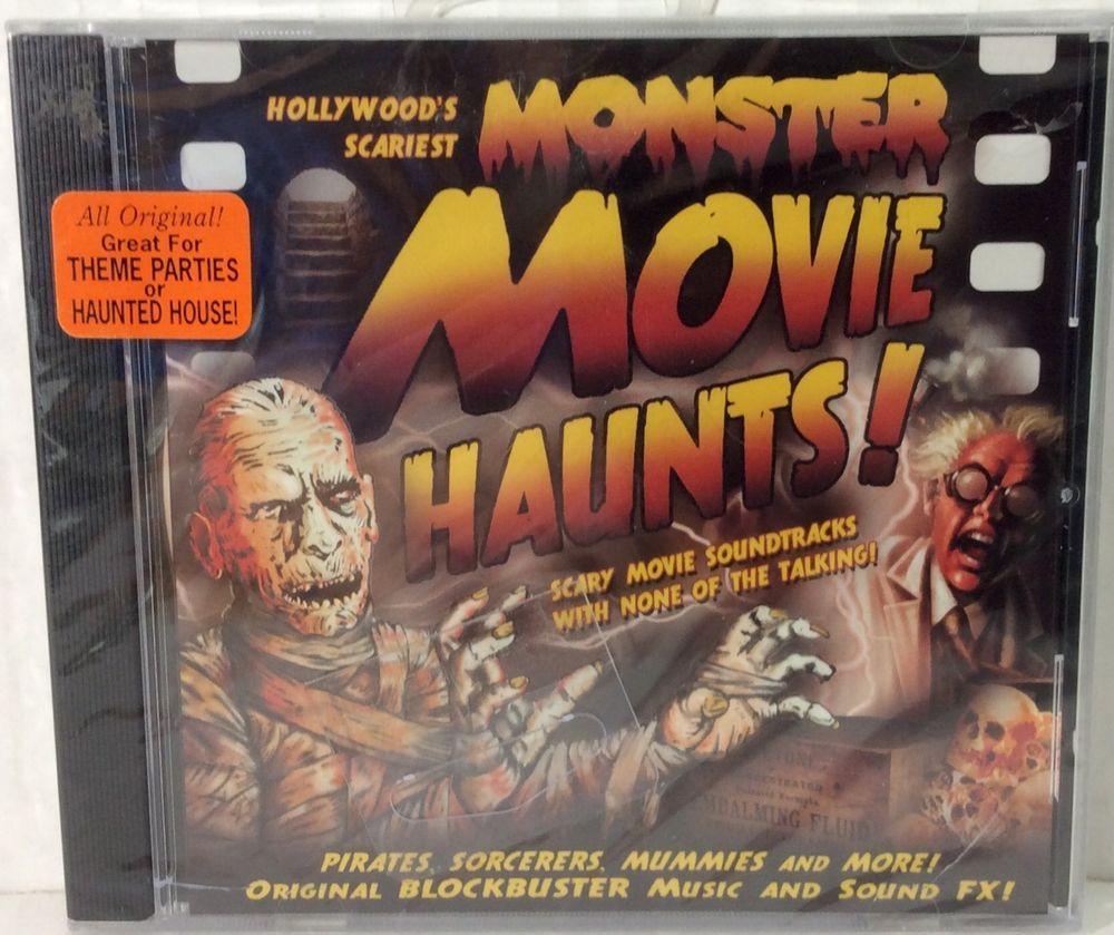 scariest monster movie sound effects music halloween cd oop ebay - Halloween Music For Parties