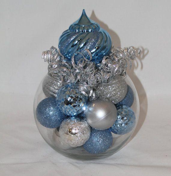 Winter Wonderland Christmas Centerpiece