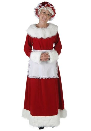 Deluxe Mrs Claus Costume Womens Halloween Costumes Pinterest