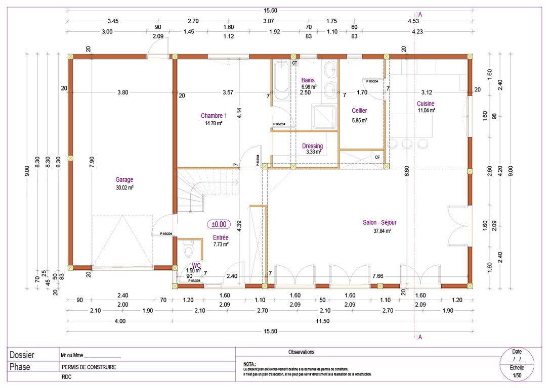 Plan Maison Dwg A Telecharger Gratuit Plan De Coffrage Ferraillage Dwg Autocad Btiment With Plan Mai Plan Maison Plan De Maison A Etage Plan Maison Architecte