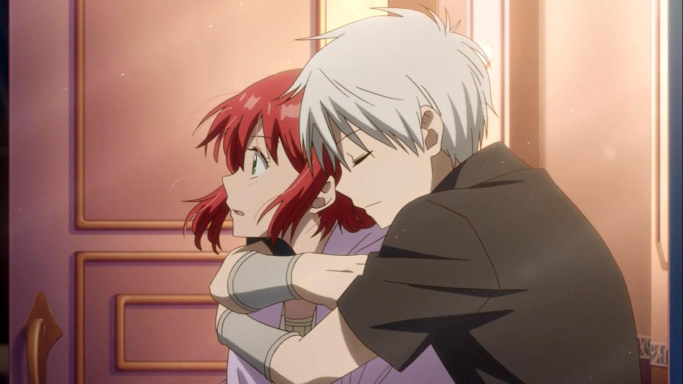 Akagami No Shirayuki Hime Shirayuki And Zen Episode 14 Snow White With The Red Hair Akagami No Shirayuki Anime Snow