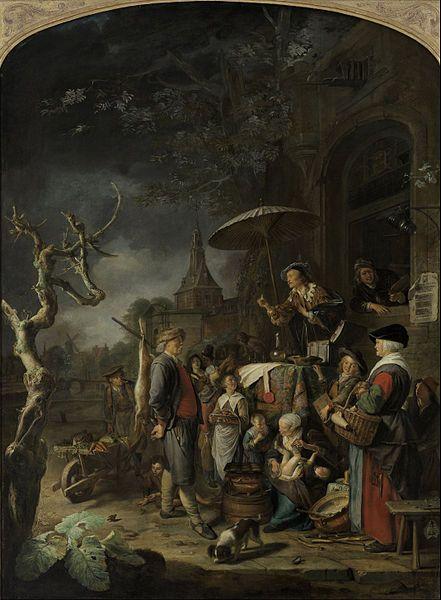 Gerard Dou The Quack (1652)