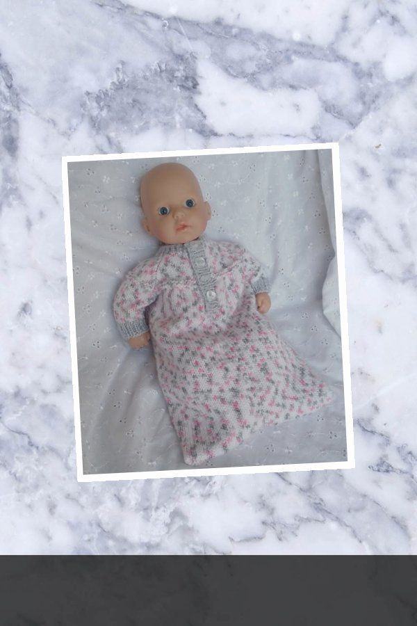 BEAUTIFUL Free Knitting Guide Baby Annabell Sleeping Bag ...