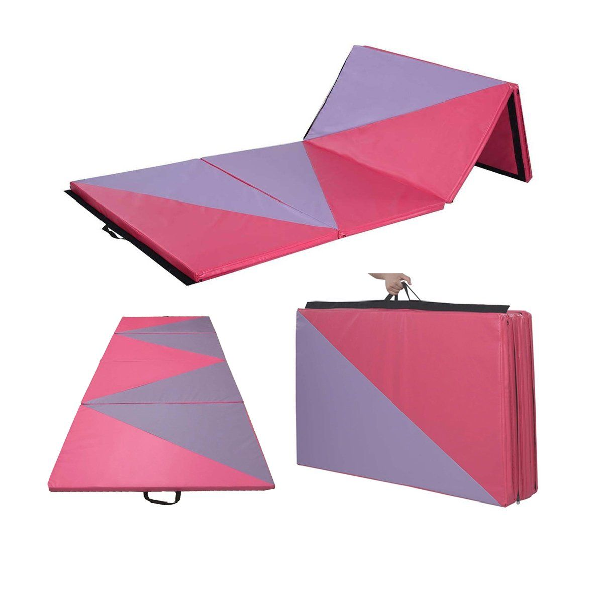 4 X10 X2 Thick Gymnastics Mat Folding Yoga Mat Panel