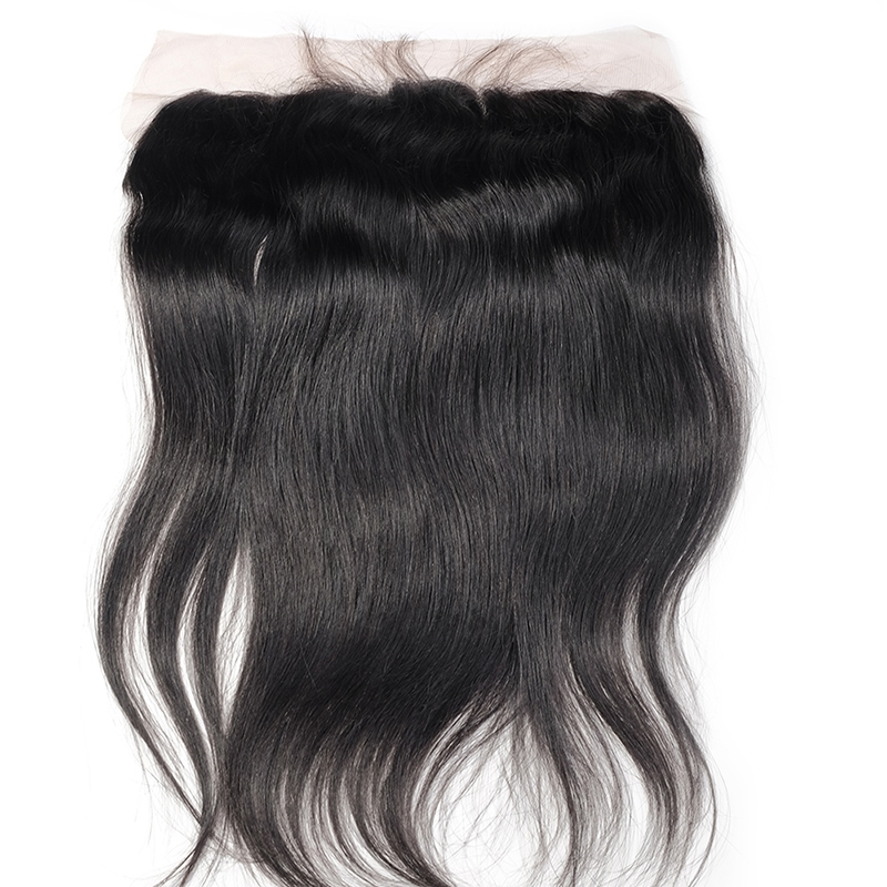 79.99$  Watch here - http://alid09.worldwells.pw/go.php?t=32555060034 - EVET Peruvian Lace Frontal Closure Bleached Knots 13X4 Virgin Human Hair Soft Straight Density 120% Bleached Knots Lace Closure