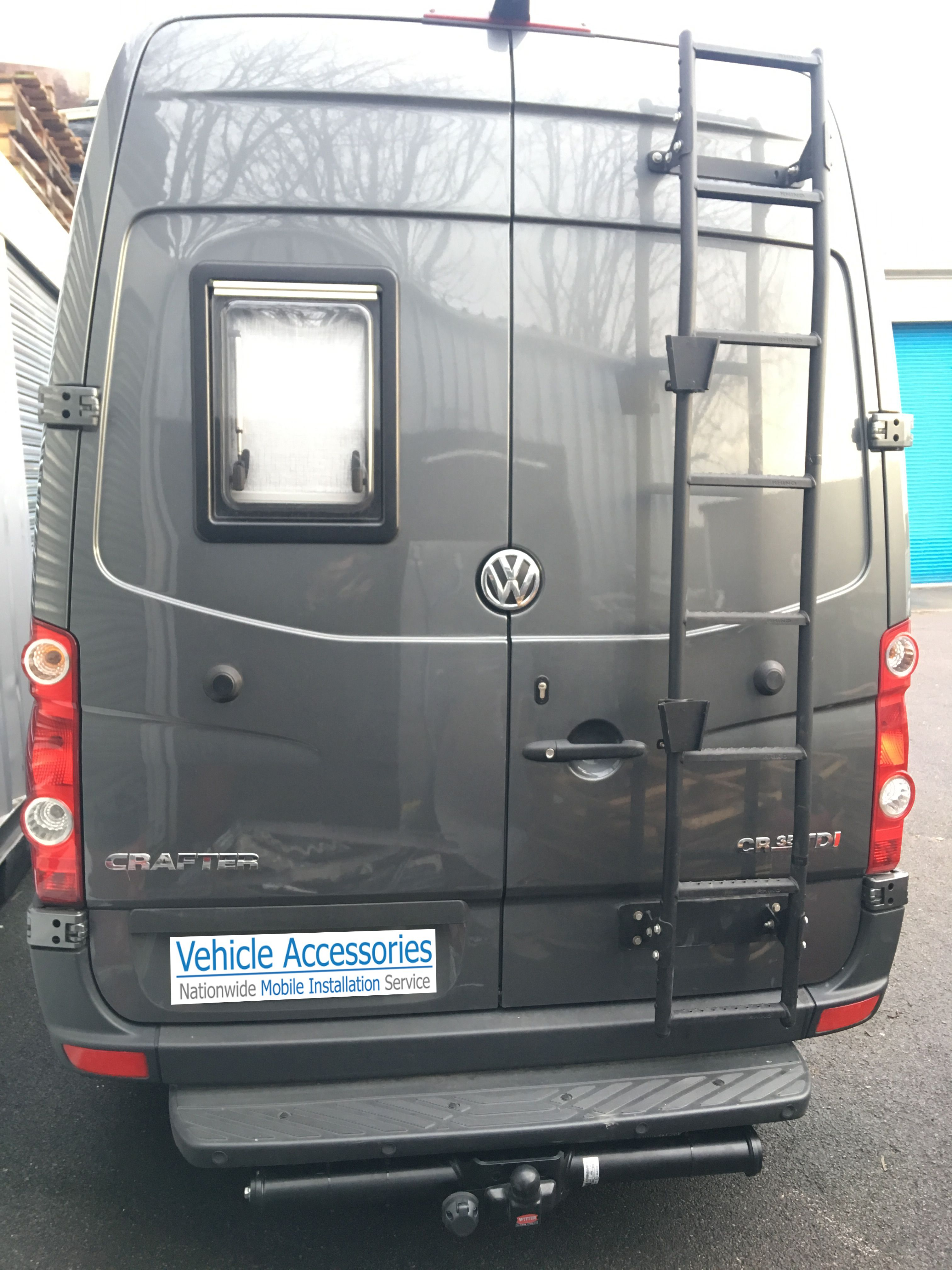 Vw Crafter Fitted With Deaadlocks Towbar Safety Step And Tracker