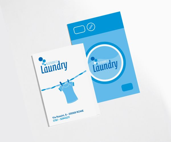 Bluebubbles Laundry By Missbaloo Via Behance Desain