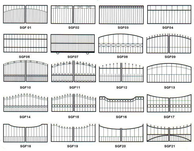 metal slide gate - Google Search | home fence project | Pinterest ...
