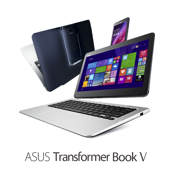 New Transformer Book V from ASUS - A 5-mode device that runs both Windows and Android.