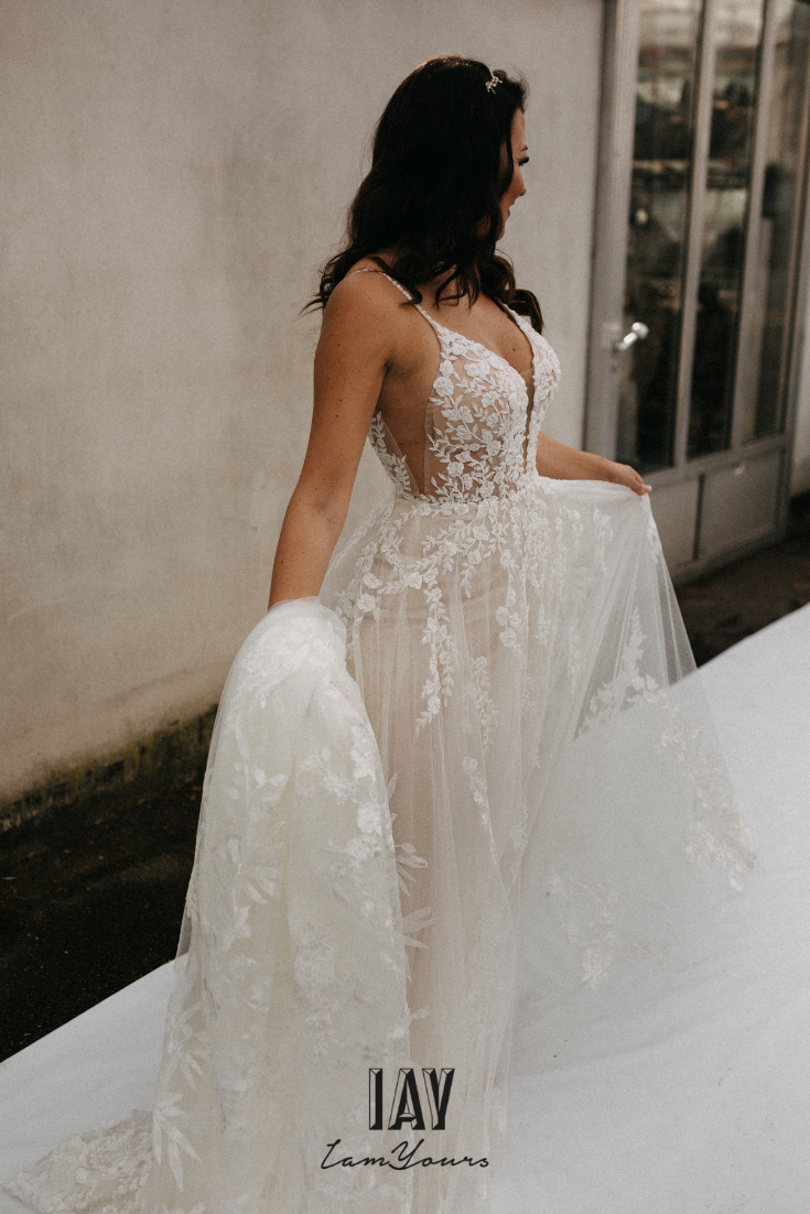 IAY Martina Liana Lace Dresses  Kleid hochzeit, Boho braut, Brautmode