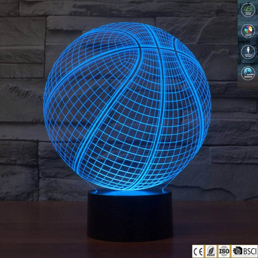 The 8 Coolest Lamps You Can Buy Or Diy 3d Illusion Lamp 3d Led Night Light Night Light Lamp
