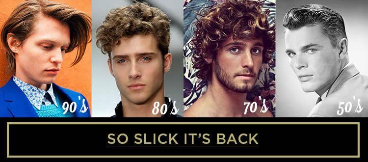 Superior Menu0027s Hairstyles Through The Decades