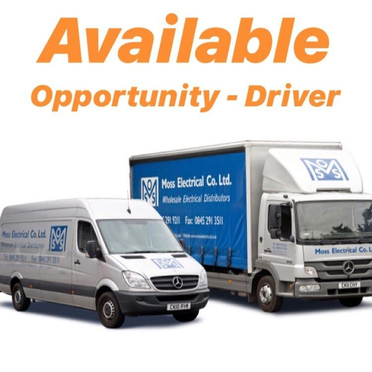 We Have An Opportunity For A Van Driver Anyone Interested Please
