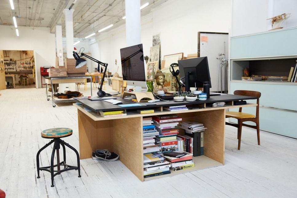 Furniture maker jason pickens studio in brooklyn new