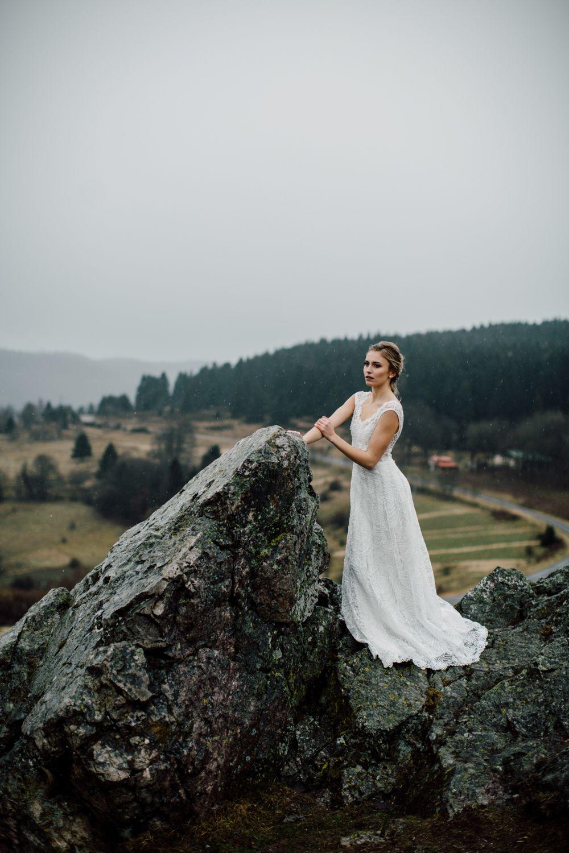 Shooting D Inspiration En Pleine Nature En Alsace Robe De Mariee