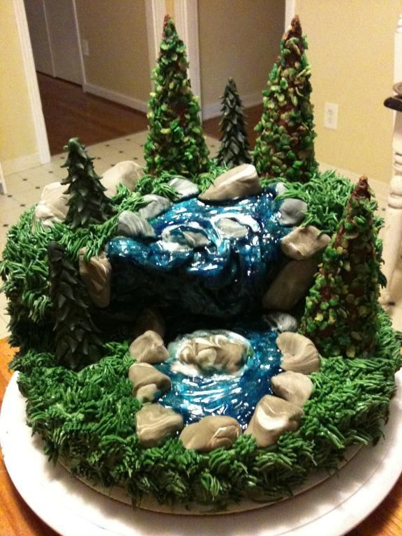 You Have To See Waterfall Cake On Craftsy Looking For