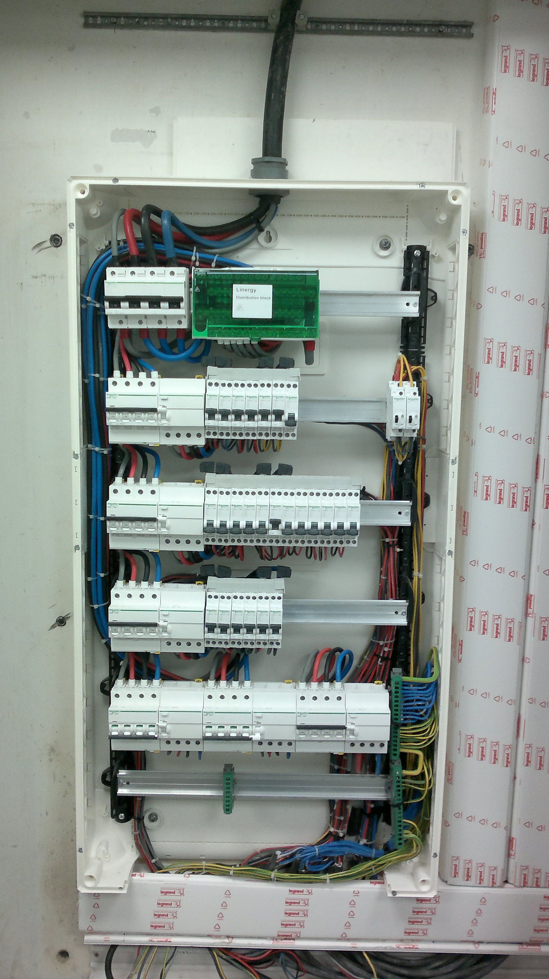 Electrical panel board | electrical works | Pinterest | Electrical work